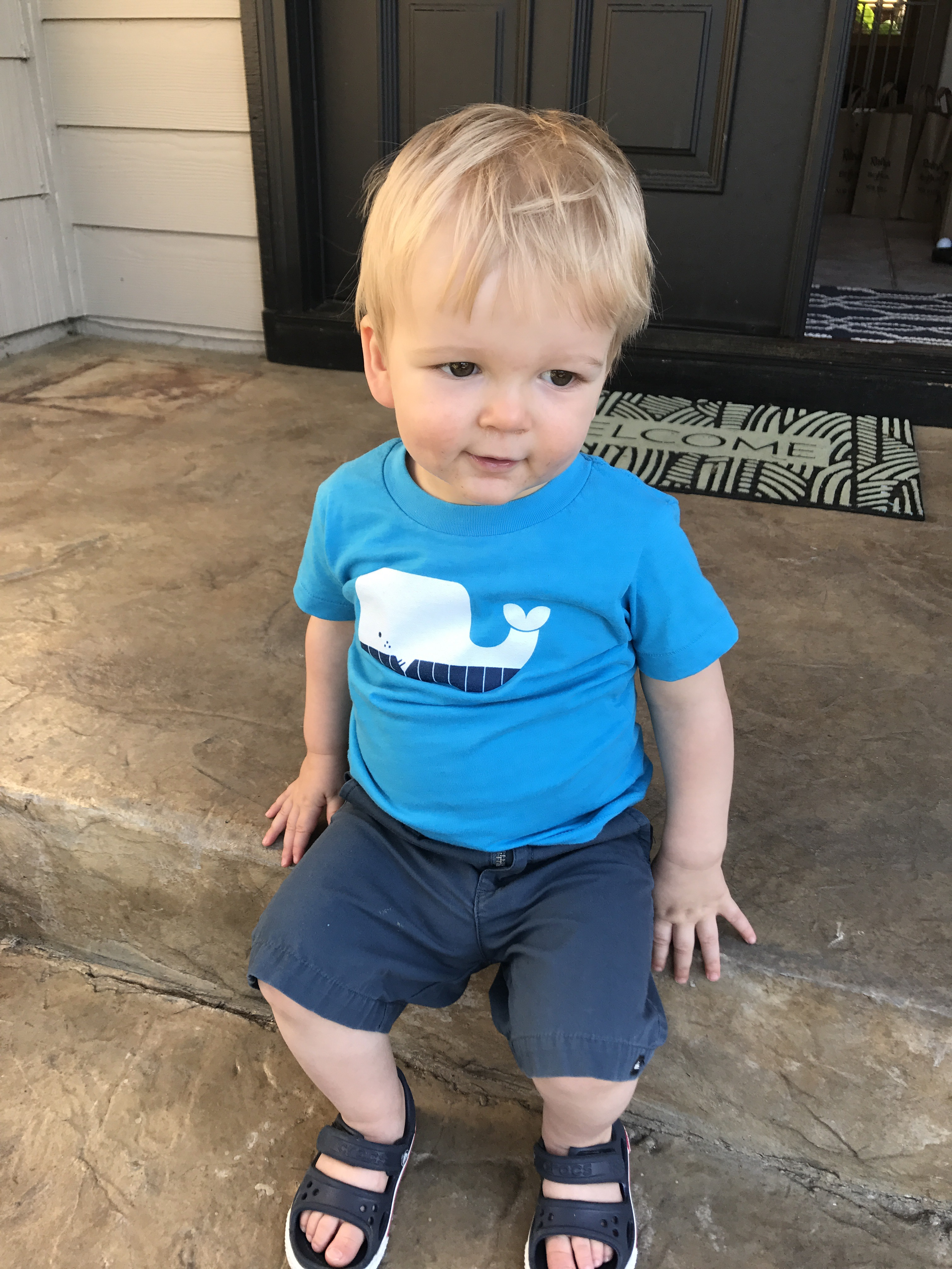 Whale Toddler Tshirt